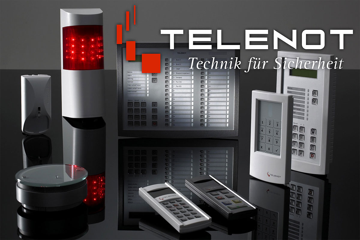 telenot unser neuer partner f r innovative sicherheit wfw einbruchmeldetechnik. Black Bedroom Furniture Sets. Home Design Ideas