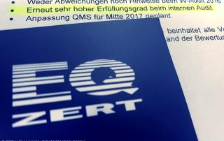 eqzert Qualitaet WFW DIN ISO 9001 Alarmanlagen Heidenheim