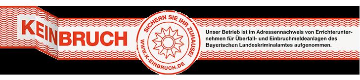 k-einbruch keinbruch WFW Alarmanlagen Heidenheim Bayern